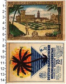 Изображение Банкноты Германия : Нотгельды 75 пфеннигов 1922  XF
