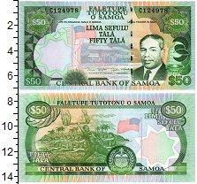 Изображение Банкноты Самоа 50 тала 1991  UNC