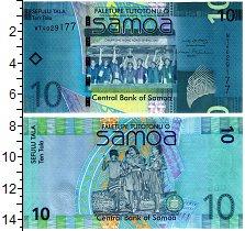 Изображение Банкноты Самоа 10 тала 2007  UNC Чемпионы 2007. Дети