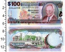 Изображение Банкноты Барбадос 100 долларов 2007  UNC