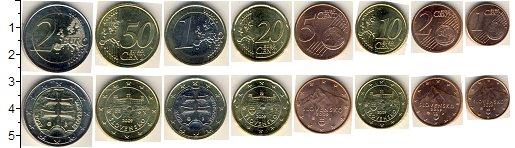 Изображение Наборы монет Европа Словакия Евронабор 2009 года 2009  UNC-