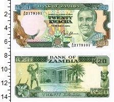 Изображение Банкноты Замбия 20 квач 0  UNC