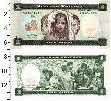 Изображение Банкноты Эритрея 1 накфа 1997  UNC