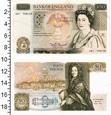 Изображение Банкноты Великобритания 50 фунтов 0  XF