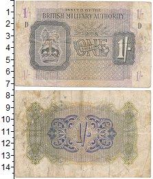 Изображение Банкноты Великобритания 1 шиллинг 1943  VF