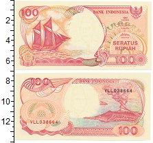 Изображение Банкноты Индонезия 100 рупий 1999  UNC Парусное судно пинис