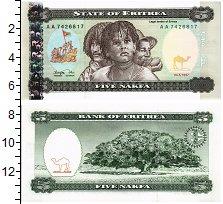 Изображение Банкноты Эритрея 5 накфа 1997  UNC