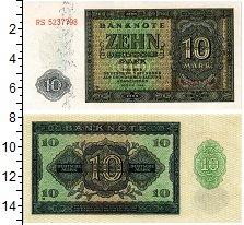 Изображение Банкноты ГДР 10 марок 1948  UNC