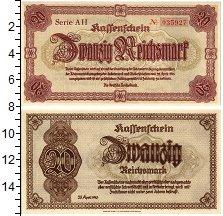 Изображение Банкноты Третий Рейх 20 марок 1945  UNC