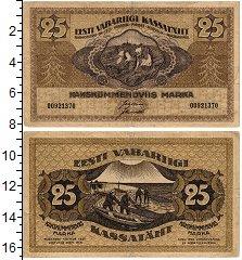 Изображение Банкноты Эстония 25 марок 1919  VF