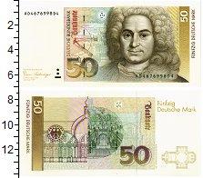 Изображение Банкноты ФРГ 50 марок 1989  UNC