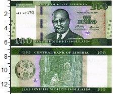 Изображение Банкноты Либерия 100 долларов 2017  UNC