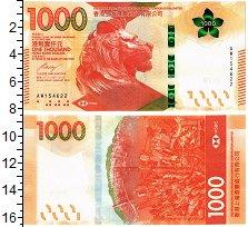 Изображение Банкноты Гонконг 1000 долларов 2018  UNC The Hongkong and Sha