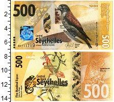 Изображение Банкноты Сейшелы 500 рупий 2016  UNC