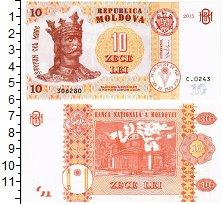 Изображение Банкноты Молдавия 10 лей 2015  UNC