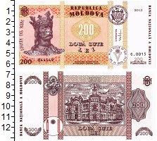 Изображение Банкноты Молдавия 200 лей 2013  UNC