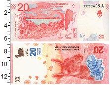Продать Банкноты Аргентина 20 песо 2017