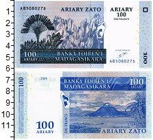 Изображение Банкноты Мадагаскар 100 ариари 2004  UNC