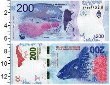 Продать Банкноты Аргентина 200 песо 2016