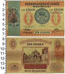 Изображение Банкноты Нидерландская Индия 1 гульден 1940  XF