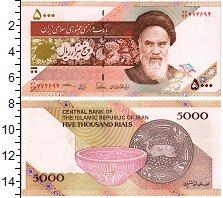 Изображение Банкноты Иран 5000 риалов 0  UNC