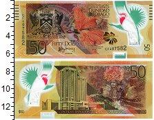 Изображение Банкноты Тринидад и Тобаго 50 долларов 2014 Пластик UNC