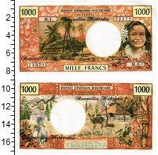 Изображение Банкноты Новые Гебриды 1000 франков 1980  UNC