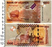 Продать Банкноты Уганда 1000 шиллингов 2013