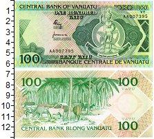 Изображение Банкноты Вануату 100 вату 1982  UNC