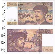Изображение Банкноты Франция 20 франков 1997  UNC Клауди Дебюсси