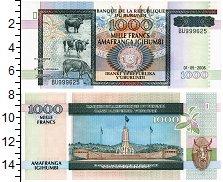Изображение Банкноты Бурунди 1000 франков 2006  UNC