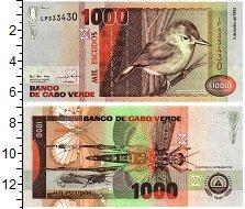 Изображение Банкноты Кабо-Верде 1000 эскудо 1992  UNC