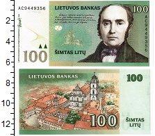 Изображение Банкноты Литва 100 лит 2000  UNC
