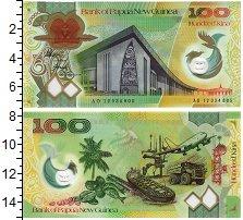 Изображение Банкноты Папуа-Новая Гвинея 100 кин 2012 Пластик UNC