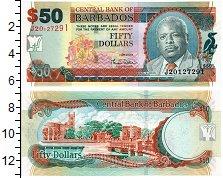 Изображение Банкноты Барбадос 50 долларов 2007  UNC