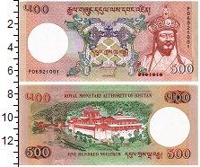 Изображение Банкноты Бутан 500 нгултрум 2011  UNC