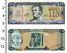 Изображение Банкноты Либерия 10 долларов 2011  UNC