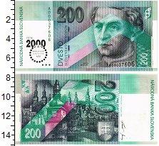 Изображение Банкноты Словакия 200 крон 1995  UNC