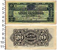 Изображение Банкноты Мозамбик 20 сентаво 1933  XF-