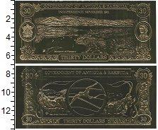 Изображение Банкноты Антигуа и Барбуда 30 долларов 1983 Пластик UNC