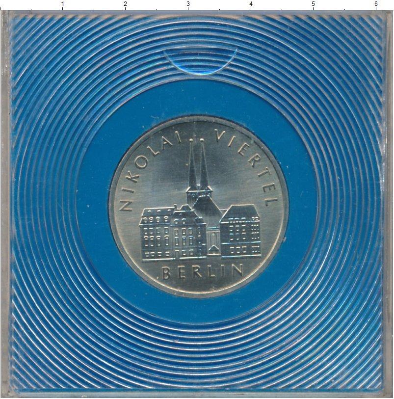 Изображение Монеты ГДР 5 марок 1987 Медно-никель UNC Николаевский квартал