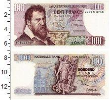 Изображение Банкноты Бельгия 100 франков 1975  UNC