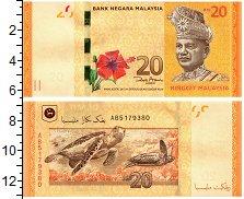 Изображение Банкноты Малайзия 20 рингит 0  UNC