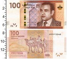 Изображение Банкноты Марокко 100 дирхам 2012  UNC