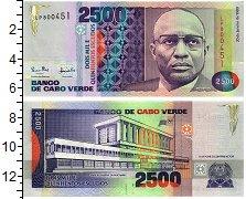 Изображение Банкноты Кабо-Верде 2500 эскудо 1989  UNC