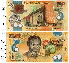 Изображение Банкноты Папуа-Новая Гвинея 50 кин 2012  UNC Парламент, герб (изо