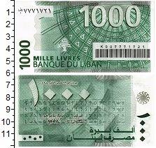 Изображение Банкноты Ливан 1000 ливр 2004  UNC