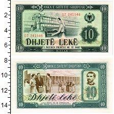Изображение Банкноты Албания 10 лек 1964  UNC