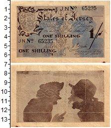 Изображение Банкноты Остров Джерси 1 шиллинг 1941  XF-