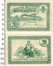 Изображение Банкноты Португалия 20 сентаво 1920  UNC-